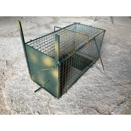 Jaula para captura de conejos